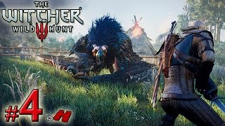 The Witcher 3 Wild Hunt #4 Enfrentando o Grifo Real [Griffin Boss Fight] (Gameplay PT-BR)