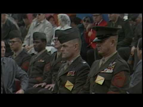 Middle East- President Attends Marine Funeral