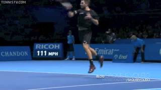 Stanislas Wawrinka's racquet gets some payback