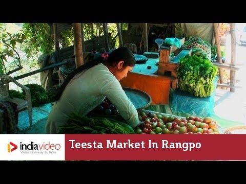 Teesta Market in Rangpo