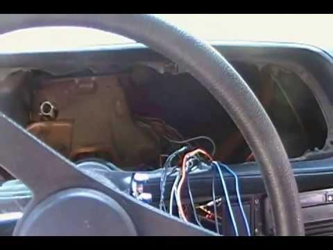 1973 Camaro - Dashboard Fire - The Damage.