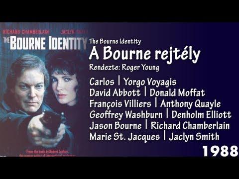 A Bourne rejtély (The Bourne Identity) Magyar szinkron VHS throwback
