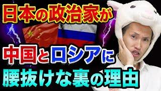 日本の政治家が、中国とロシアに、腰抜けな裏の理由【日本の歴史がねじ曲げられる危機】北方領土と政治家のスキャンダルの真実