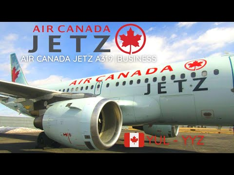 TRIP REPORT | Air Canada Jetz A319-100 | Montréal (YUL) To Toronto (YYZ) | Business