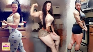roxyqueflexx - MUSCULAR Girls Are So HOT These Days