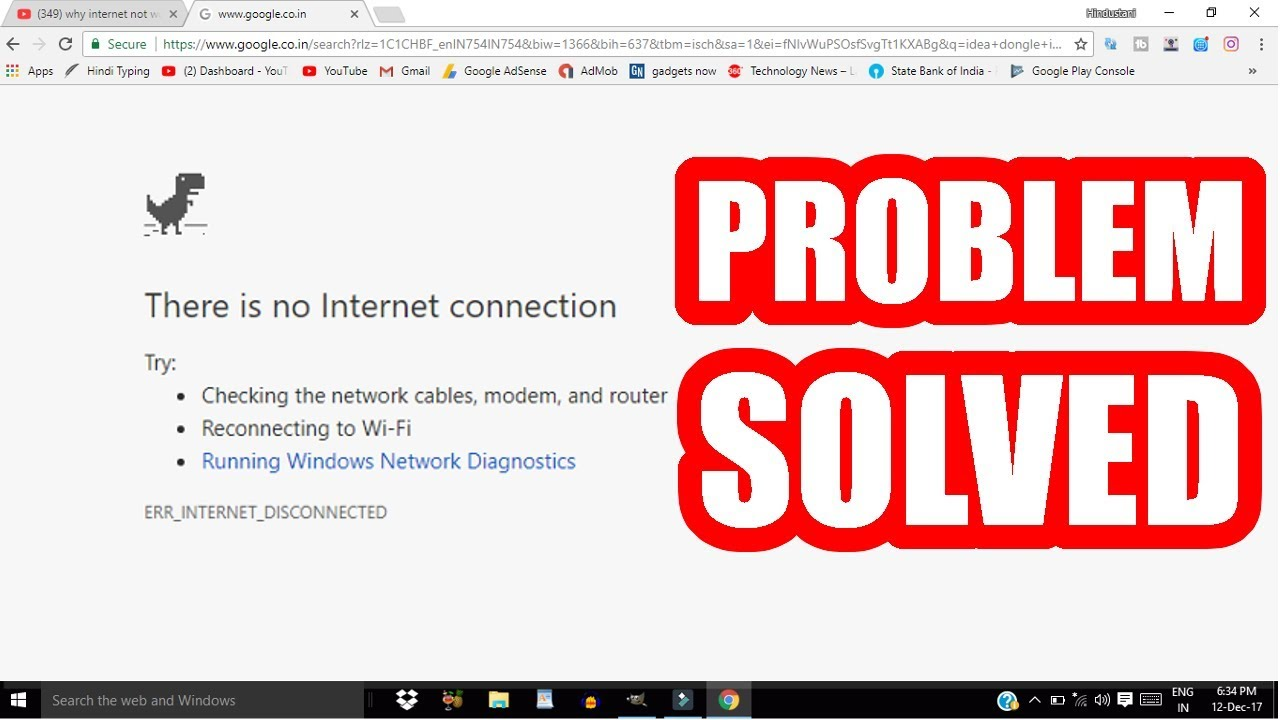Internet Connected but not working | Internet or Wifi not ...
