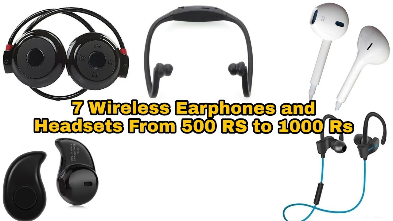 Bluetooth Earphones Under 1000rs Cheapest Wireless Earbuds Wireless Headset Under 500rs Cheap Youtube