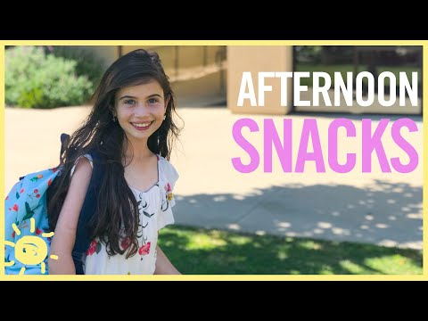 EAT | 3 Afternoon SNACKS that Won't Ruin Dinner
