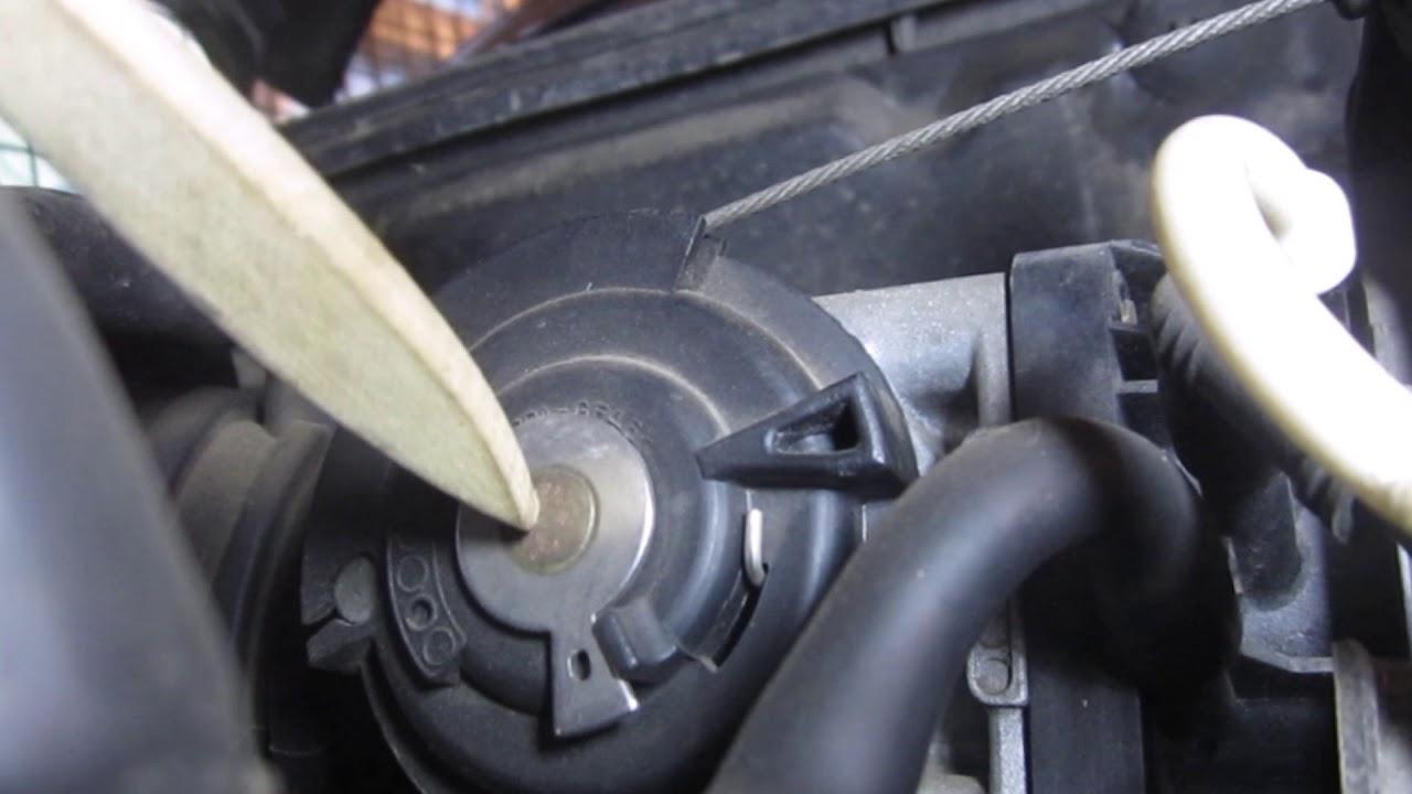 Правильная регулировка тросика газа на Лачетти и аналогичных дросселях