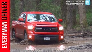 Here's the 2015 Toyota Tundra TRD Pro Off-Road on Everyman Driver
