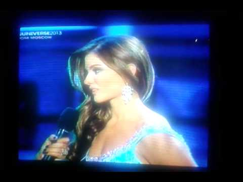 Miss Universe 2013 Question & Answer - Ecuador