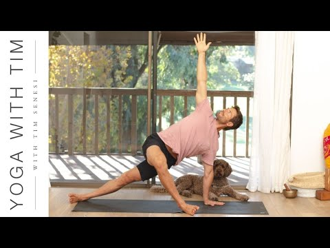 Total Body Morning Yoga Flow Workout level 2/3   Yoga With Tim