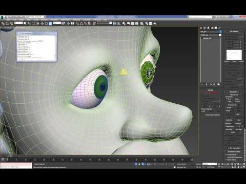Cartoon Character For Production 3DMax (Texturing) : 01 (27)