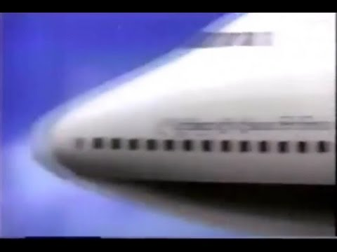 1985 Pan Am Commercial To Europe