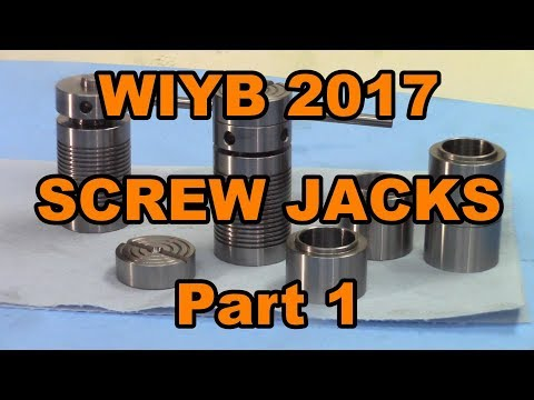 Fast and precision boring on Screw Jack for WIYB 2017. Part 1