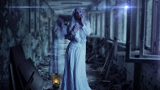 Radioactive Ghost Scene:  Photoshop Manipulation Tutorial
