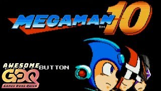 Mega Man 10 by Slurpeeninja in 34:31 - AGDQ2019