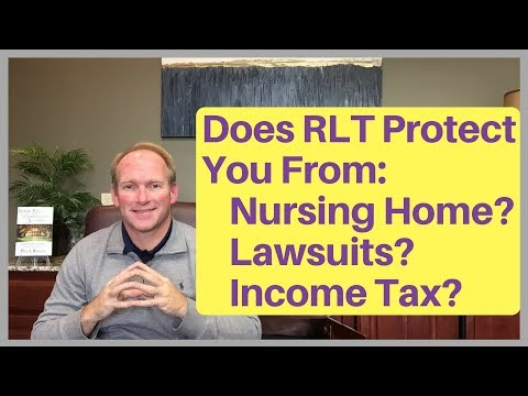 Does a Revocable Living Trust Protect From Nursing Home, Lawsuits, or Income Tax?