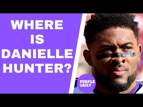 Where is Danielle Hunter? Will Minnesota Vikings get a deal done?