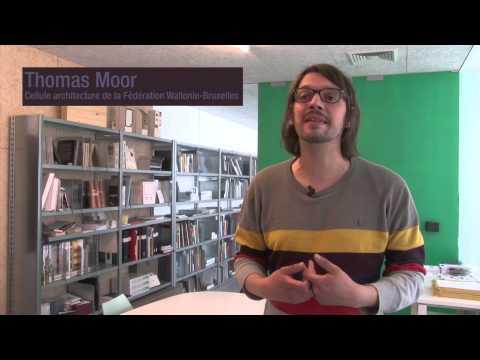 Guide d'architecture Mons Coeur du Hainaut - Interview de Thomas Moor
