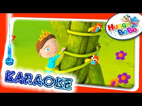 Jack Be Nimble | Sing Along Karaoke | Nursery Rhymes | By HuggyBoBo