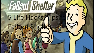 5 Hacks/Tips for Fallout Shelter