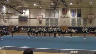 Deptford Spartans Junior Rec at Bellmawr Purple Eagles Cheer Classic 11/6/2016