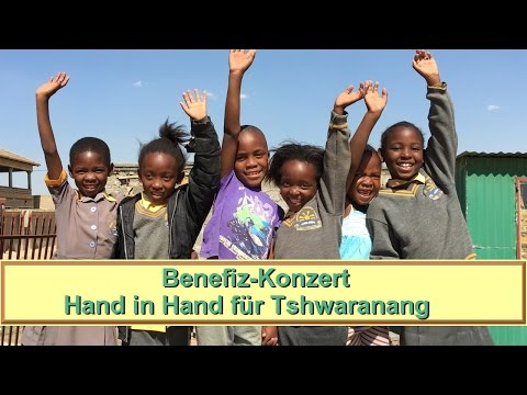 Benefiz-Konzert in Südafrika - Hand in Hand für Tshwaranang - Sternschnuppe Kinderlieder