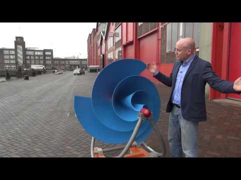 010nu -  The Archimedes maakt de allernieuwste windmolens