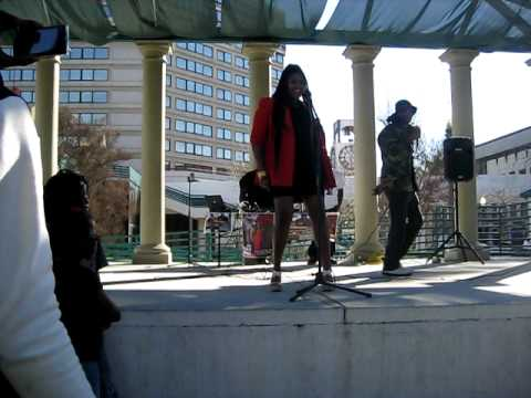 Sunshyne Performing 10th annual Black History Parade