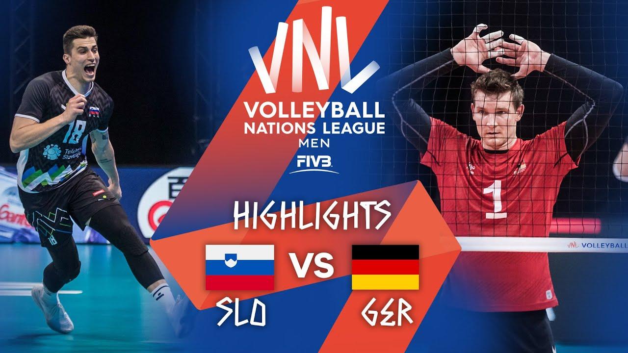 Download SLO vs. GER - Highlights Week 2 | Men's VNL 2021