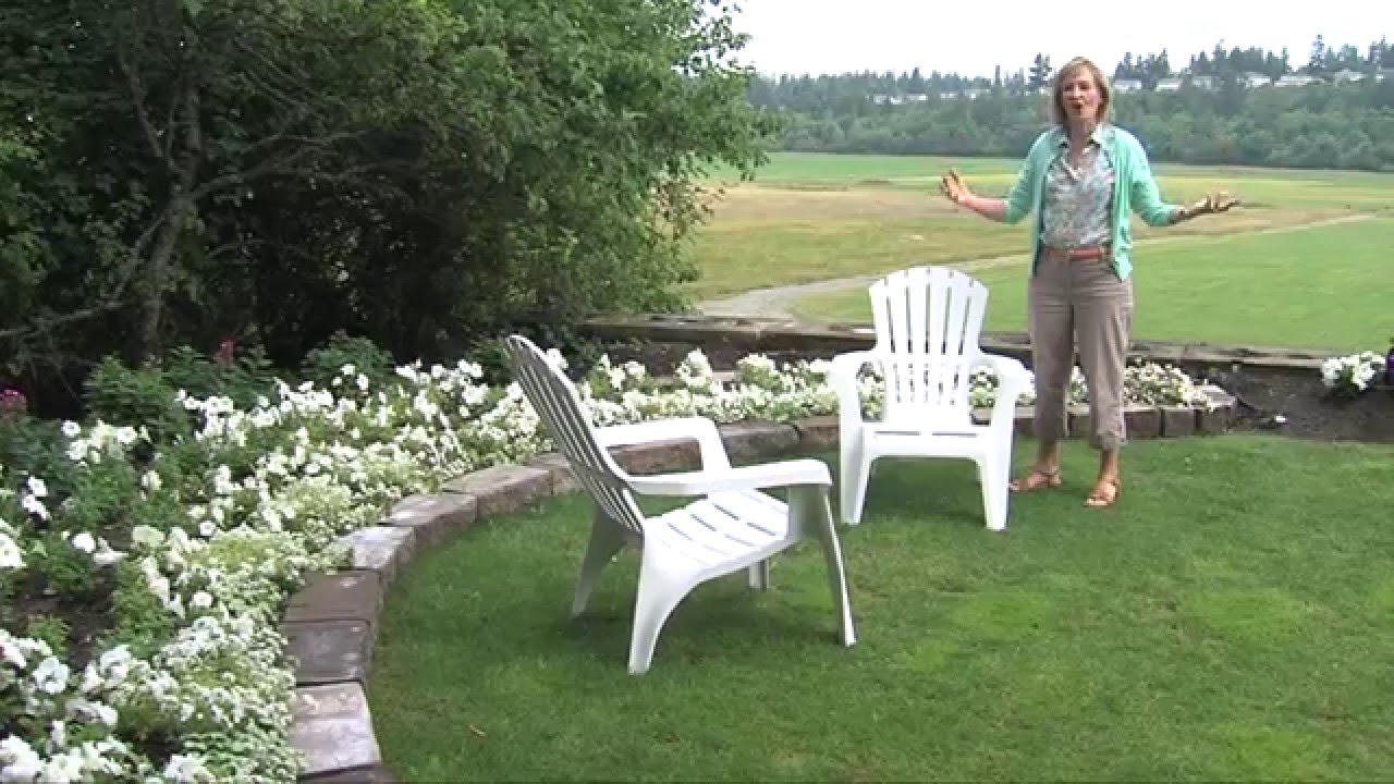 Step By Step Design And Grow An All White Victorian Garden YouTube