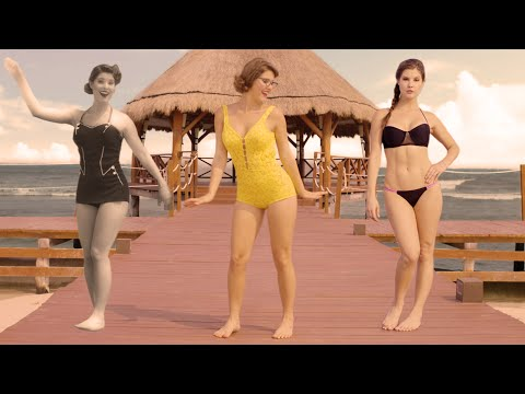 Evolution of the Bikini with Amanda Cerny