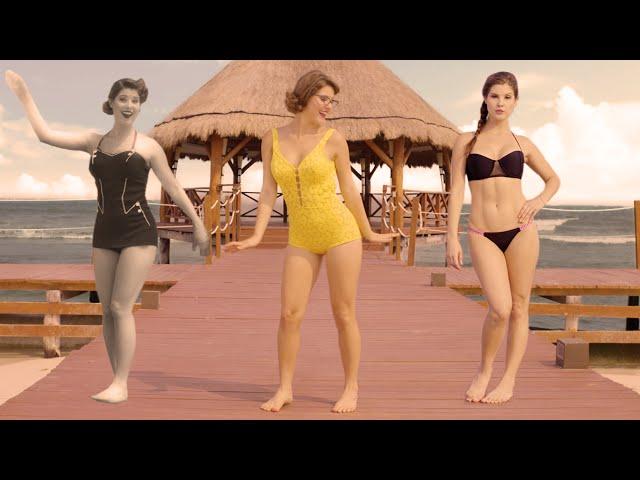 Эволюция купальника