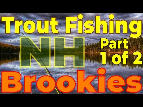 Brook Trout Fly Fishing NH Pond From A Kayak | Part 1 Of 2