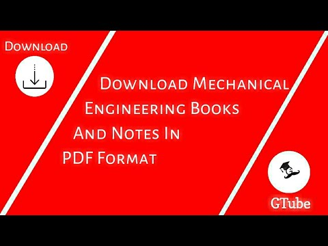 Pdf all books mechanical engineering