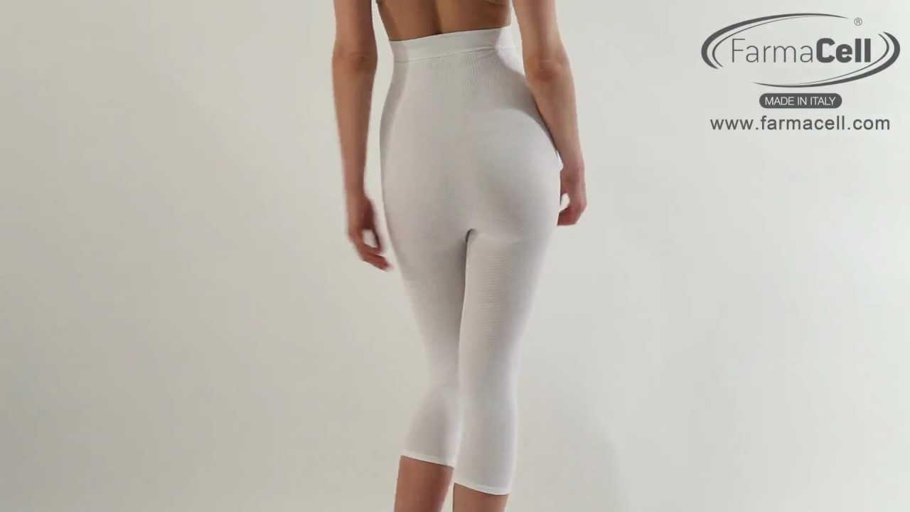 9ae8060dd6 Guaina vita alta sotto il ginocchio   Under knee high waist control girdle  - Art.123 Farmacell