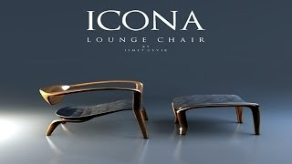 Icona Lounge Chair By Ismet Cevik