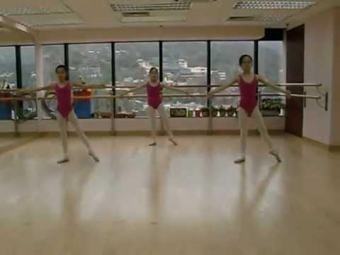 Ballet - RAD Grade 3 - Ronds de jambe a terre en dehors