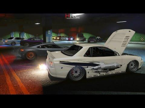 Grand Theft Auto V Online (XB1) | Import/Export Meet | Racing w/ Elegy Retros, Rocket Voltics & More