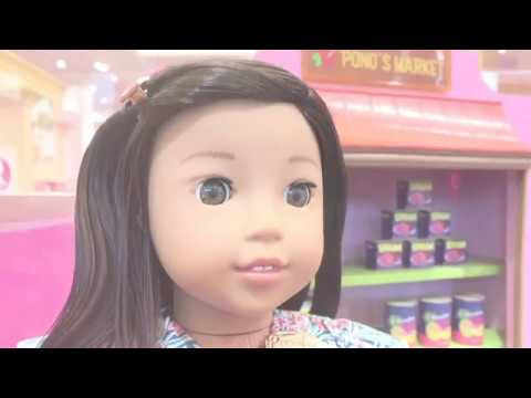 NEW American Girl Doll NANEA hits the stores!!!