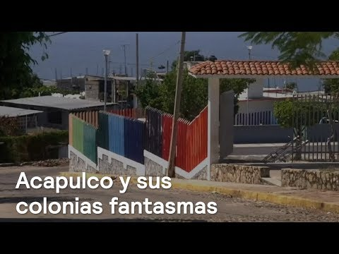 Colonias de Acapulco lucen desoladas por inseguridad  - En Punto con Denise Maerker