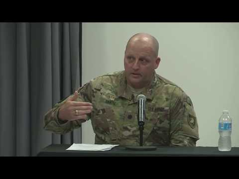 TRADOC Mad Scientist 2016 West Point: Building and Evolving in the 21st Century Panel