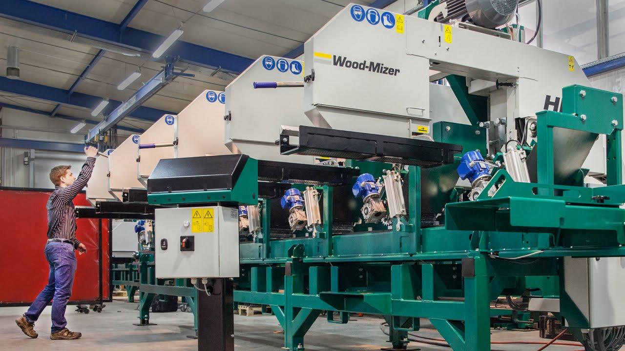 Wood Mizer Hr700 Resaw Industrial Multihead Horizontal