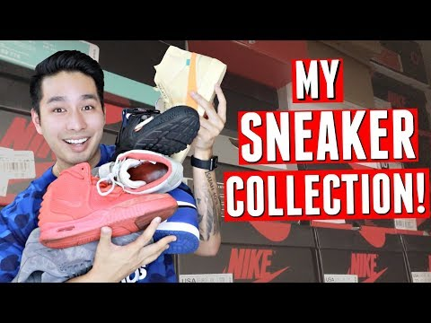 MY ENTIRE SNEAKER COLLECTION 2018 | UNTIED HAWAII
