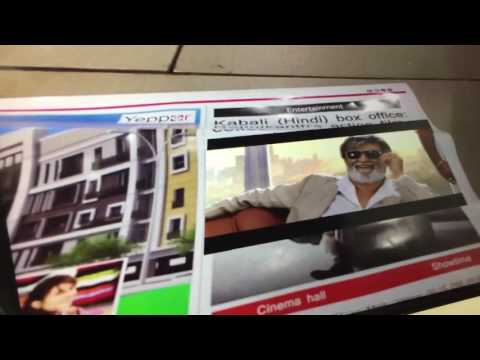 Augmented Reality In Newspaper