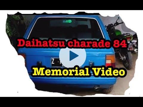 Daihatsu Charade 84 memorial video
