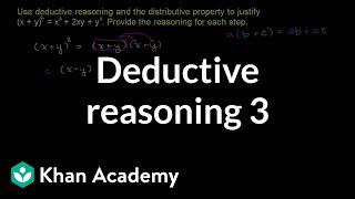 Deductive Reasoning 3