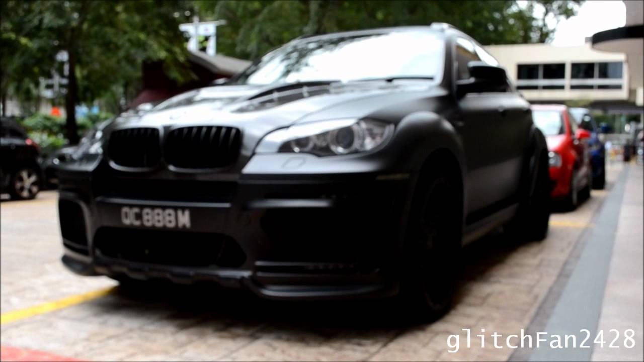 Bmw X6 0 60 >> MATTE BLACK Hamann BMW X6M Tycoon Evo M - YouTube