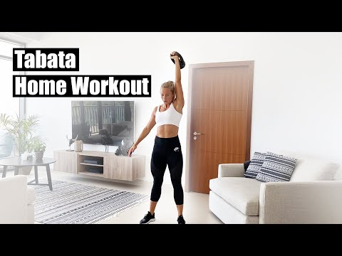 Day 1 | Home Tabata Workout (Coronavirus/COVID-19 Quarantine Workout) w/ Inger Houghton